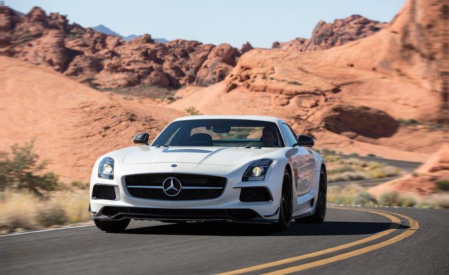 2014 Mercedes-Benz SLS AMG Black Series coupe - Slide 42