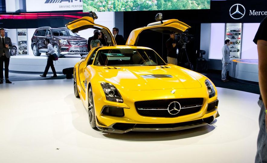 2014 Mercedes-Benz SLS AMG Black Series coupe - Slide 10