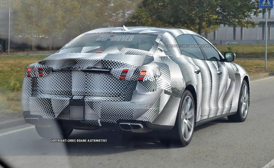 2014 Maserati Quattroporte (spy photo) - Slide 7