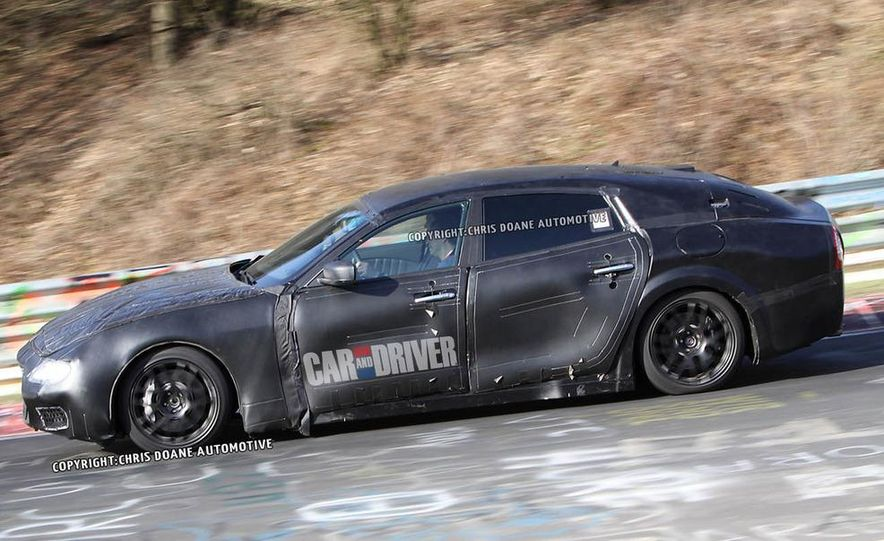 2014 Maserati Quattroporte (spy photo) - Slide 11