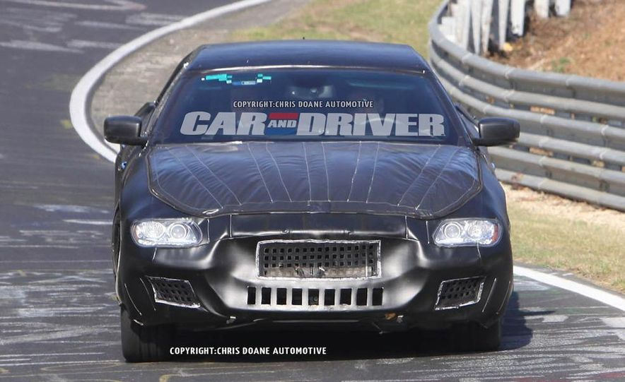 2014 Maserati Quattroporte (spy photo) - Slide 14