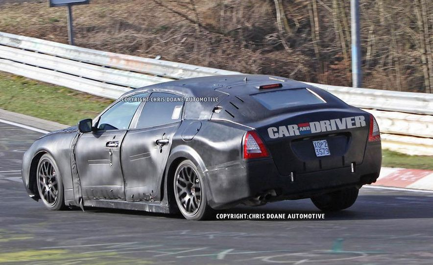 2014 Maserati Quattroporte (spy photo) - Slide 15