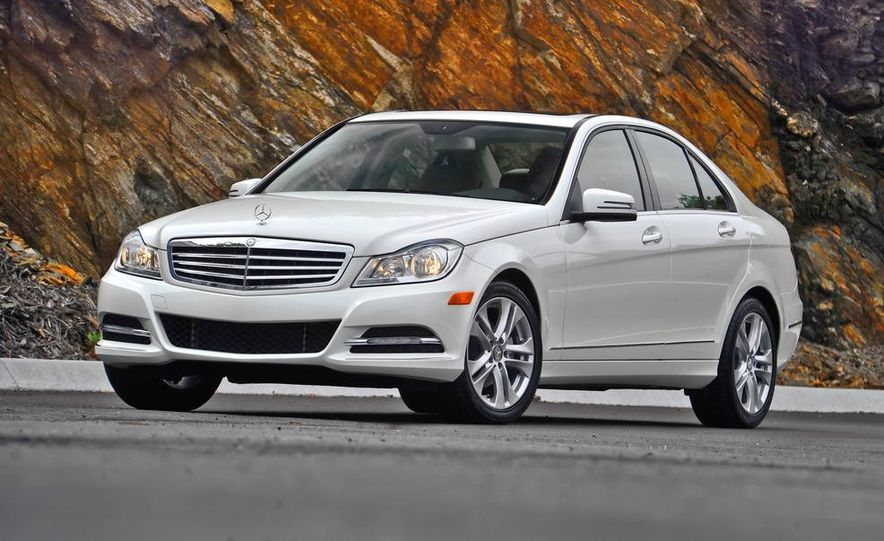 2015 Mercedes-Benz C-class (artist's rendering) - Slide 7
