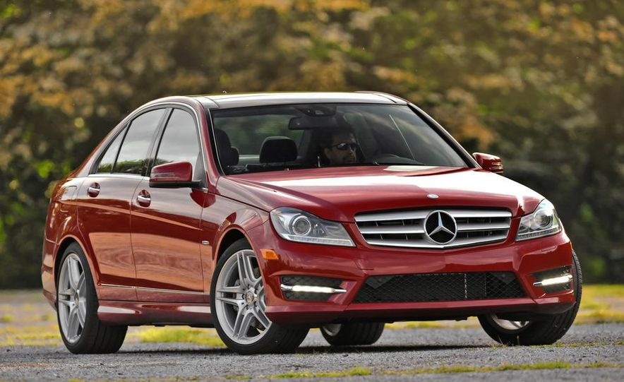 2015 Mercedes-Benz C-class (artist's rendering) - Slide 10