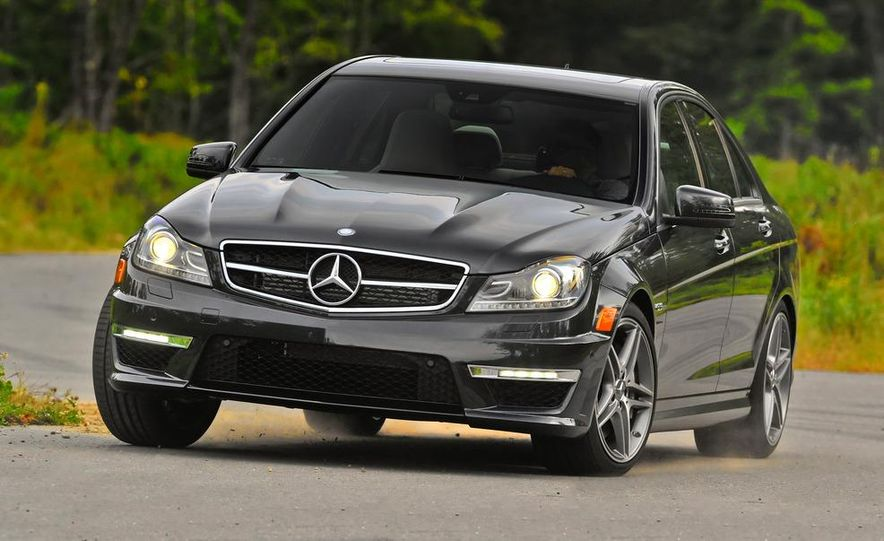 2015 Mercedes-Benz C-class (artist's rendering) - Slide 12