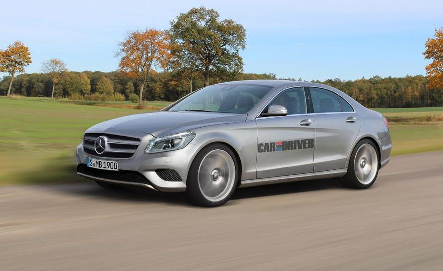 2015 Mercedes-Benz C-class (artist's rendering) - Slide 1