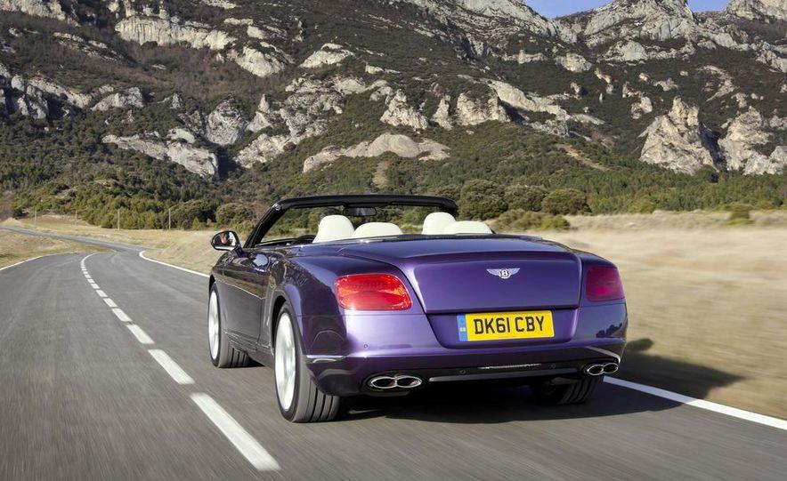 2013 Bentley Continental GTC V8 - Slide 25