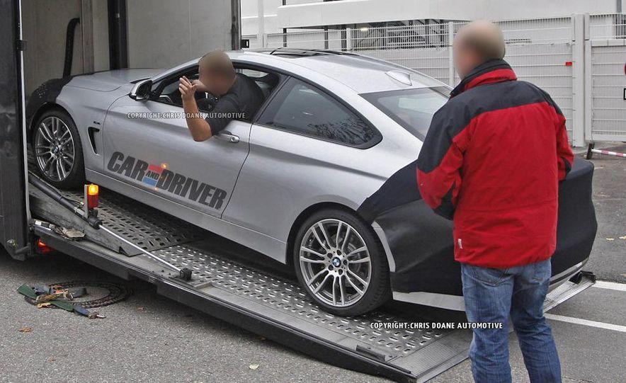 2014 BMW 4-series coupe (spy photo) - Slide 1