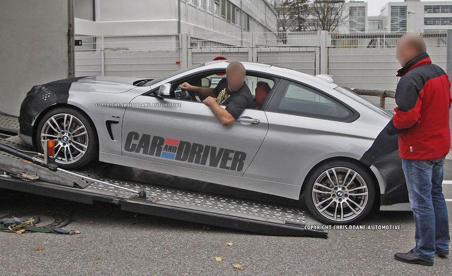 2014 BMW 4-series coupe (spy photo) - Slide 2