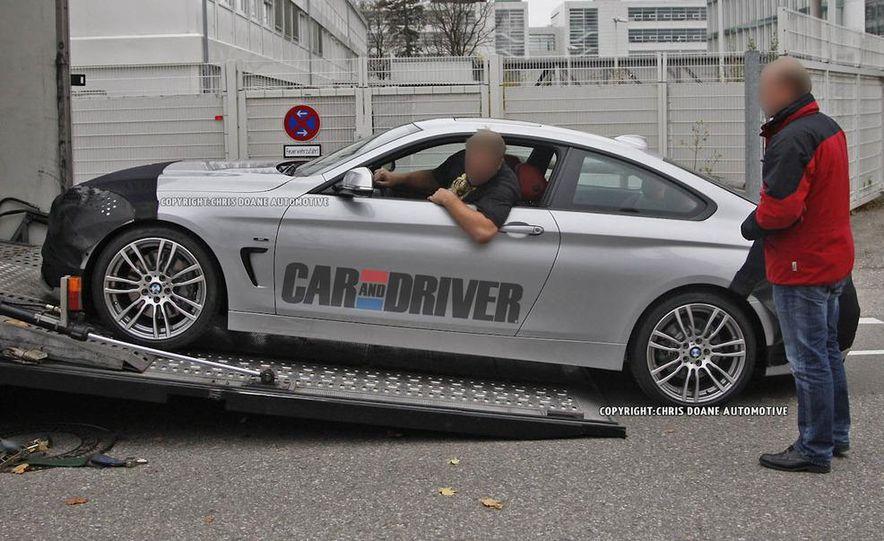 2014 BMW 4-series coupe (spy photo) - Slide 3