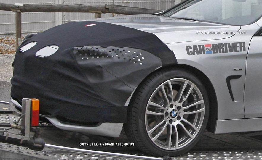 2014 BMW 4-series coupe (spy photo) - Slide 4