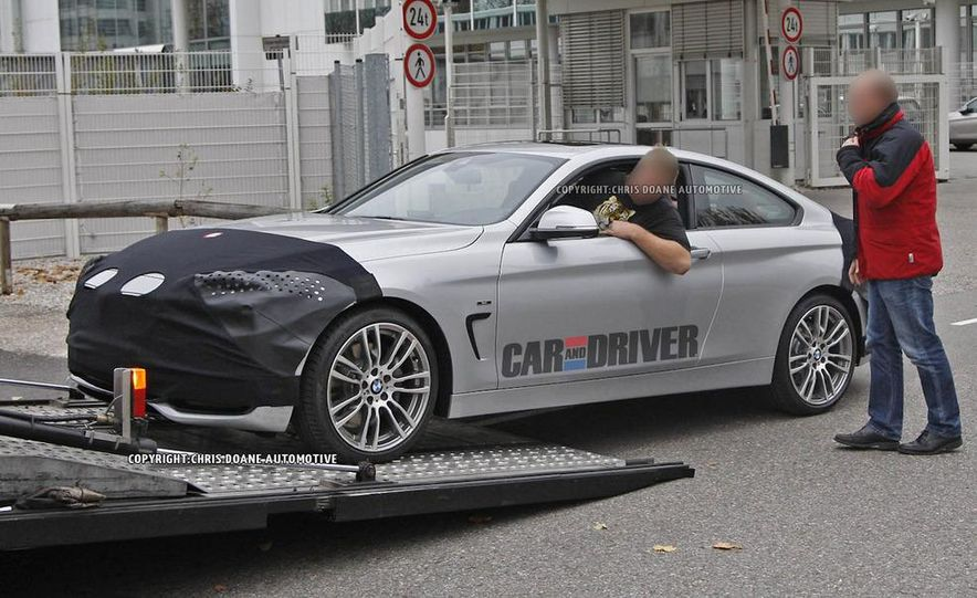 2014 BMW 4-series coupe (spy photo) - Slide 5