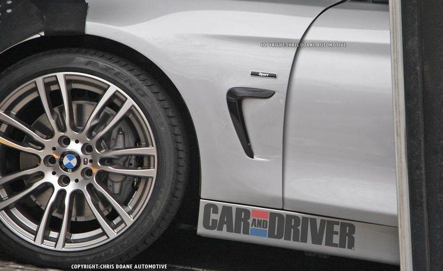 2014 BMW 4-series coupe (spy photo) - Slide 6