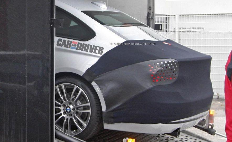 2014 BMW 4-series coupe (spy photo) - Slide 7