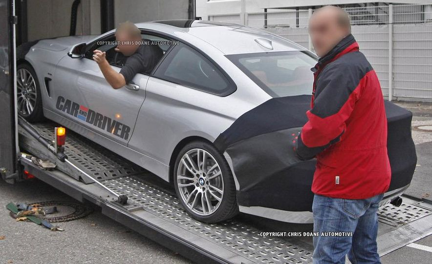 2014 BMW 4-series coupe (spy photo) - Slide 10