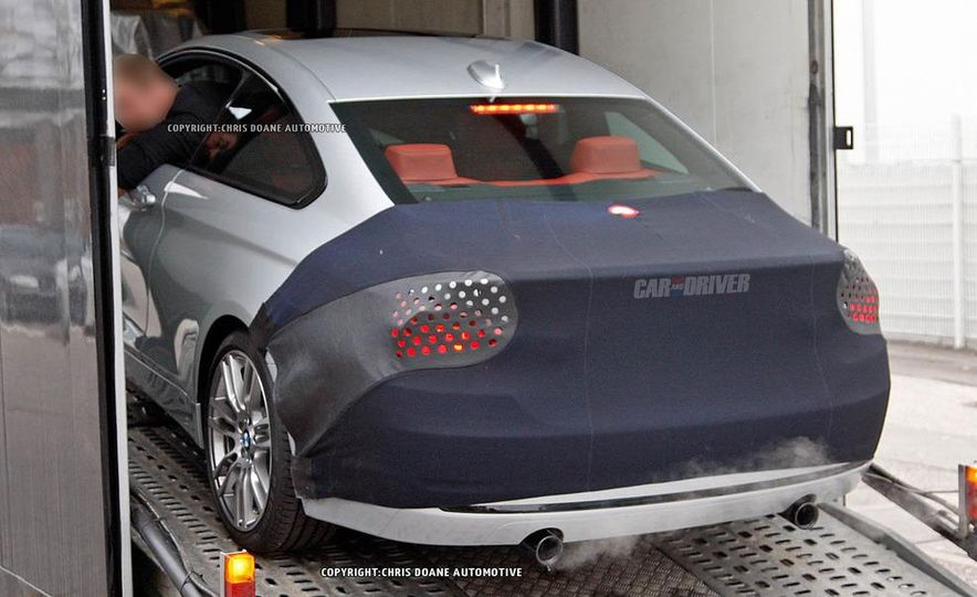 2014 BMW 4-series coupe (spy photo) - Slide 11