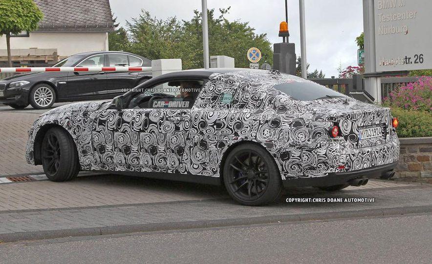 2014 BMW 4-series coupe (spy photo) - Slide 20