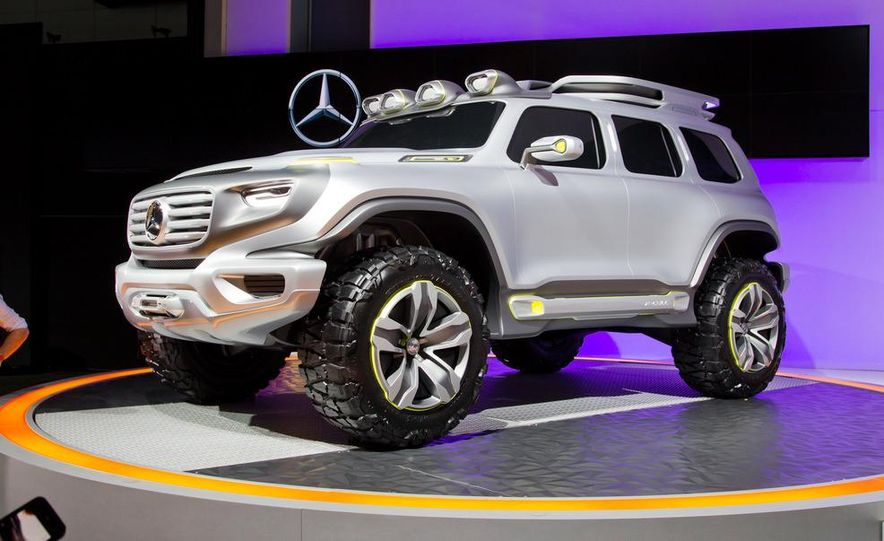Mercedes-Benz Ener-G-Force concept - Slide 1