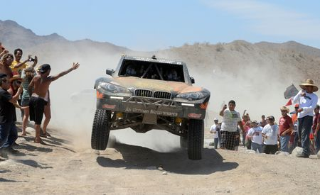 Baja Blitzkrieg: Taking the Reins of a BMW X6 Trophy Truck in Mexico