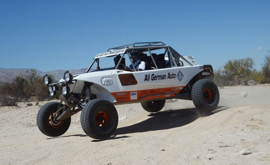 Baja Blitzkrieg: Taking the Reins of a BMW X6 Trophy Truck in Mexico - Slide 25