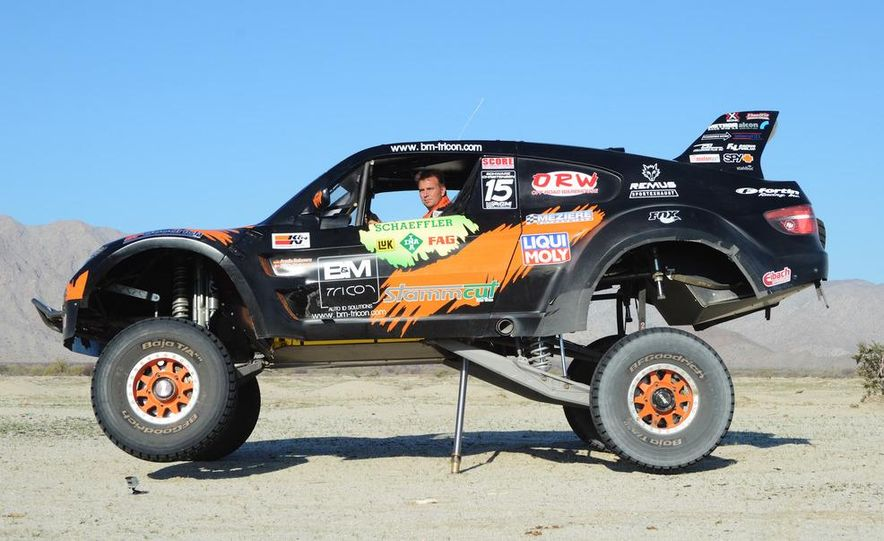 Baja Blitzkrieg: Taking the Reins of a BMW X6 Trophy Truck in Mexico - Slide 42