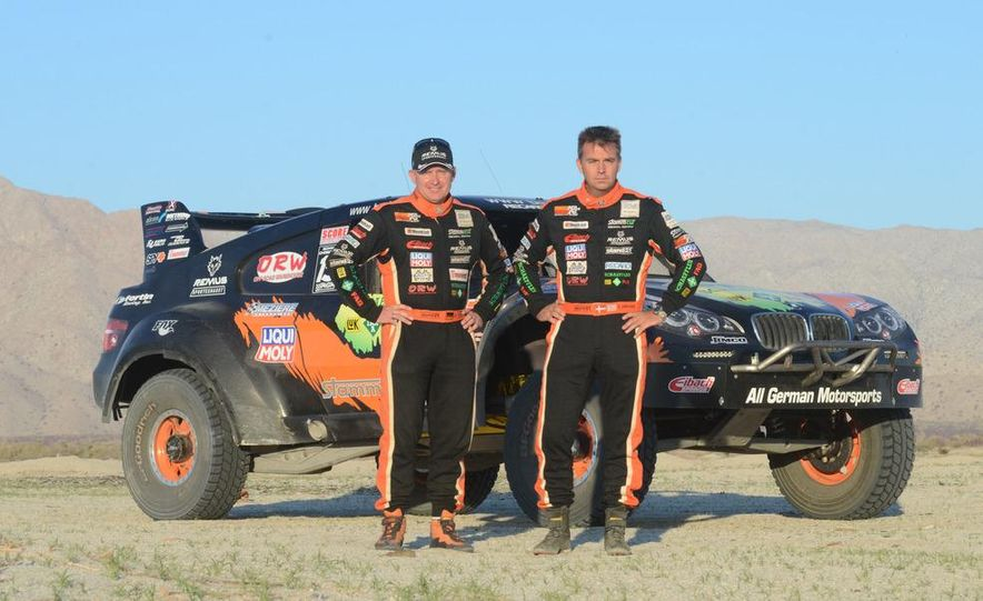 Baja Blitzkrieg: Taking the Reins of a BMW X6 Trophy Truck in Mexico - Slide 37