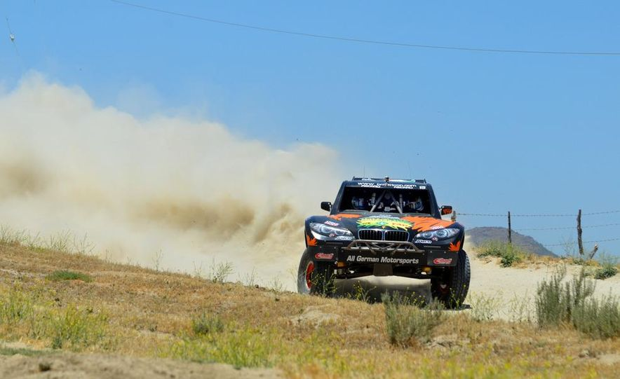Baja Blitzkrieg: Taking the Reins of a BMW X6 Trophy Truck in Mexico - Slide 1