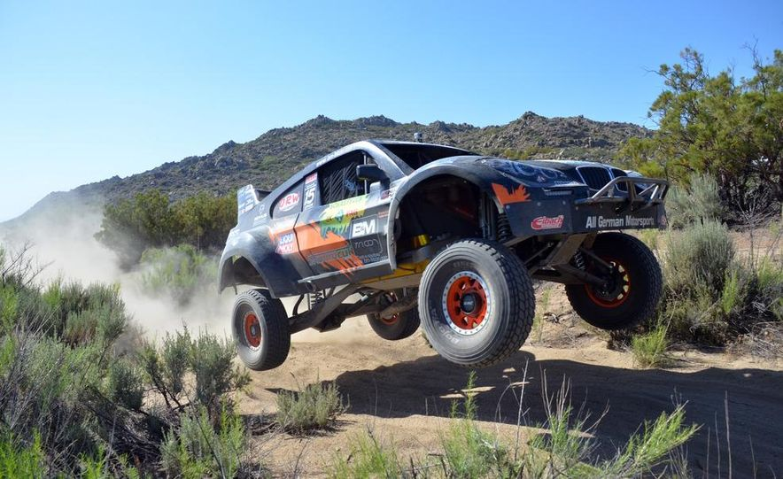 Baja Blitzkrieg: Taking the Reins of a BMW X6 Trophy Truck in Mexico - Slide 4