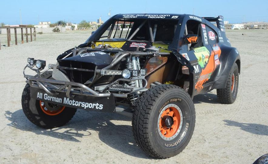 Baja Blitzkrieg: Taking the Reins of a BMW X6 Trophy Truck in Mexico - Slide 13