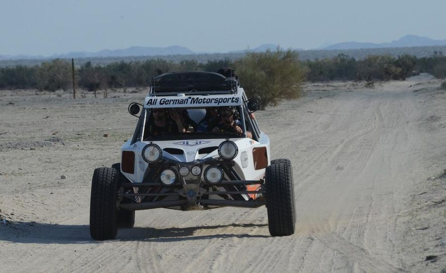 Baja Blitzkrieg: Taking the Reins of a BMW X6 Trophy Truck in Mexico - Slide 20