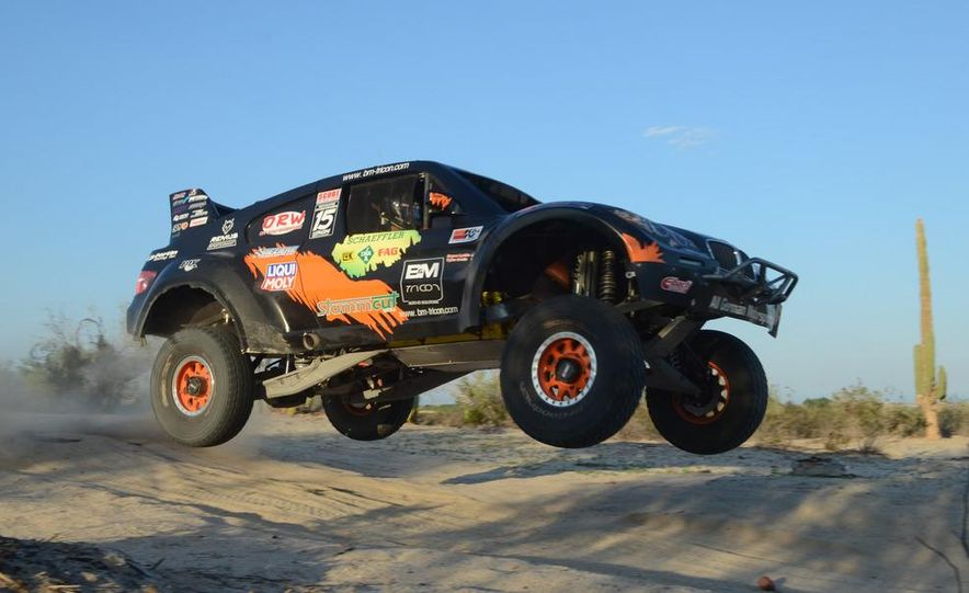Baja Blitzkrieg: Taking the Reins of a BMW X6 Trophy Truck in Mexico - Slide 21