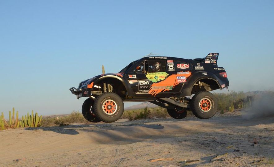 Baja Blitzkrieg: Taking the Reins of a BMW X6 Trophy Truck in Mexico - Slide 22