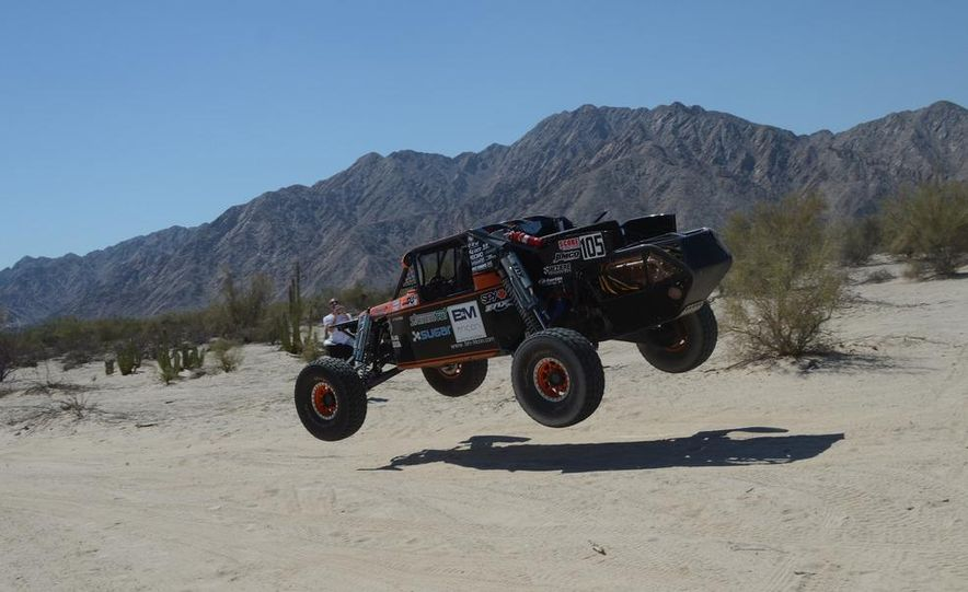 Baja Blitzkrieg: Taking the Reins of a BMW X6 Trophy Truck in Mexico - Slide 26