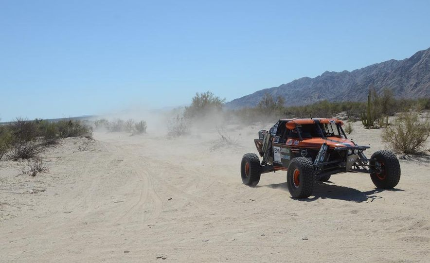 Baja Blitzkrieg: Taking the Reins of a BMW X6 Trophy Truck in Mexico - Slide 27