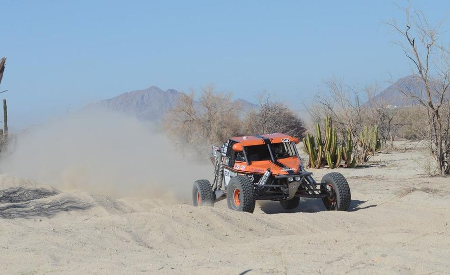 Baja Blitzkrieg: Taking the Reins of a BMW X6 Trophy Truck in Mexico - Slide 30