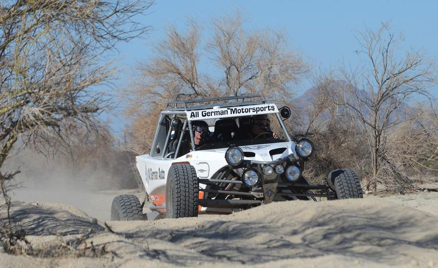 Baja Blitzkrieg: Taking the Reins of a BMW X6 Trophy Truck in Mexico - Slide 32