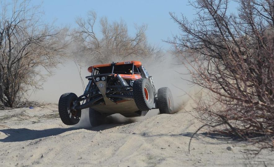 Baja Blitzkrieg: Taking the Reins of a BMW X6 Trophy Truck in Mexico - Slide 33