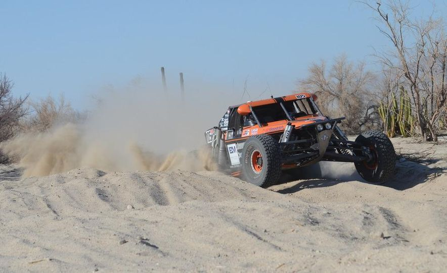 Baja Blitzkrieg: Taking the Reins of a BMW X6 Trophy Truck in Mexico - Slide 34