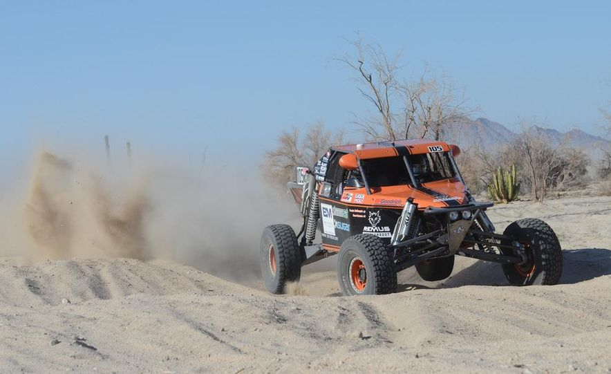 Baja Blitzkrieg: Taking the Reins of a BMW X6 Trophy Truck in Mexico - Slide 35