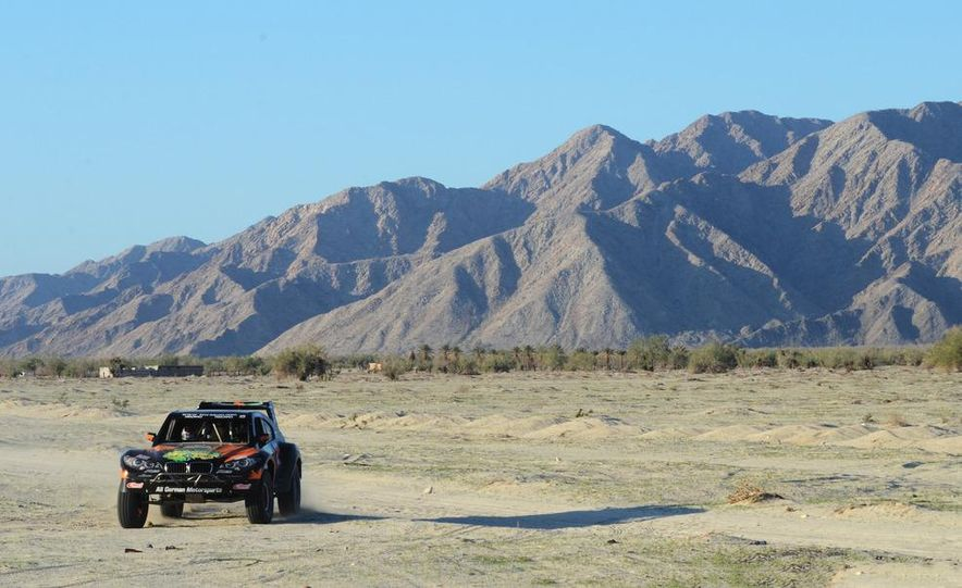 Baja Blitzkrieg: Taking the Reins of a BMW X6 Trophy Truck in Mexico - Slide 40