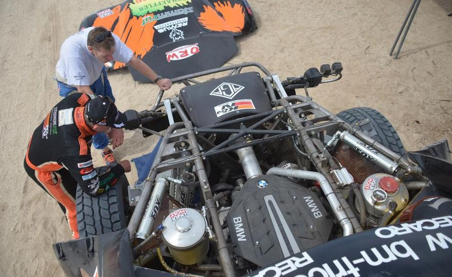 Baja Blitzkrieg: Taking the Reins of a BMW X6 Trophy Truck in Mexico - Slide 50