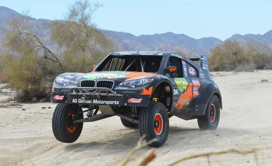 Baja Blitzkrieg: Taking the Reins of a BMW X6 Trophy Truck in Mexico - Slide 51