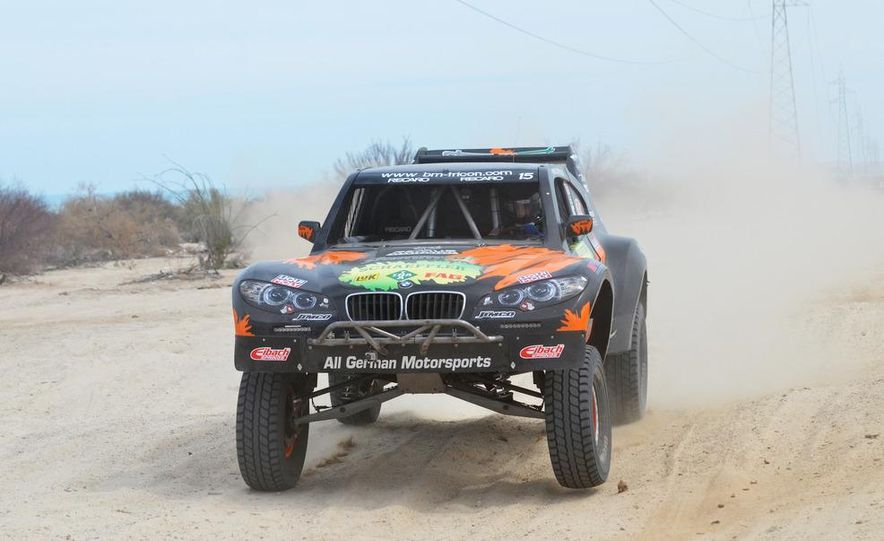 Baja Blitzkrieg: Taking the Reins of a BMW X6 Trophy Truck in Mexico - Slide 52