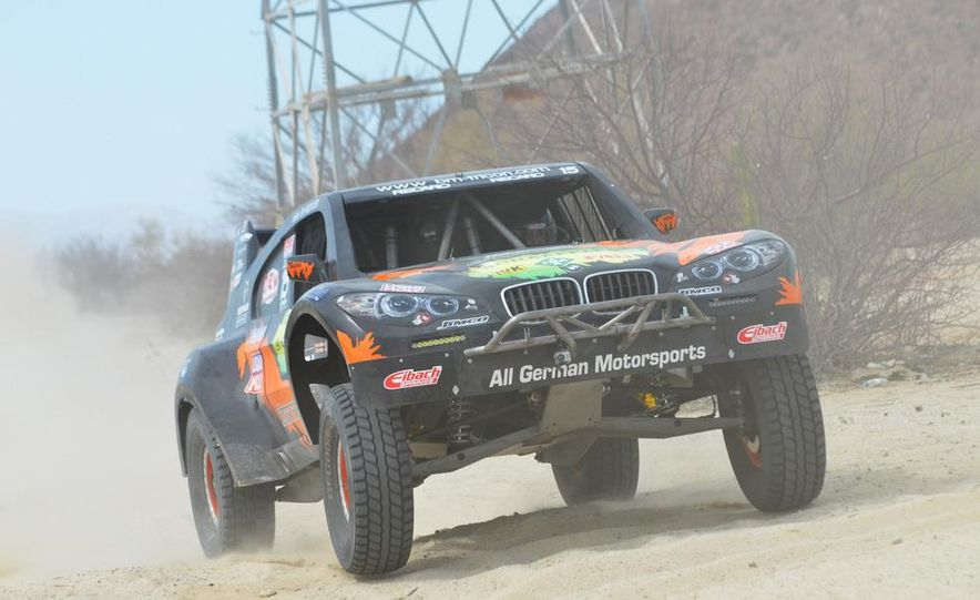 Baja Blitzkrieg: Taking the Reins of a BMW X6 Trophy Truck in Mexico - Slide 53