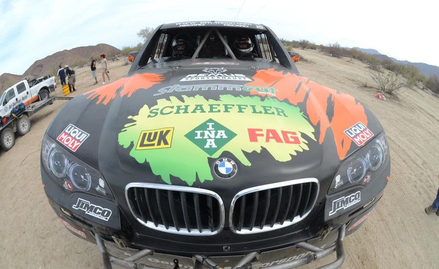Baja Blitzkrieg: Taking the Reins of a BMW X6 Trophy Truck in Mexico - Slide 54