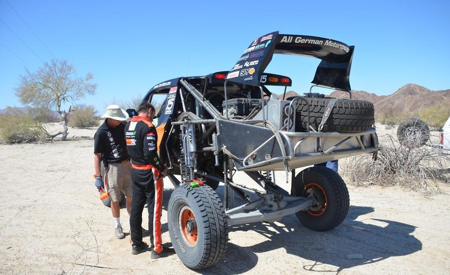 Baja Blitzkrieg: Taking the Reins of a BMW X6 Trophy Truck in Mexico - Slide 47