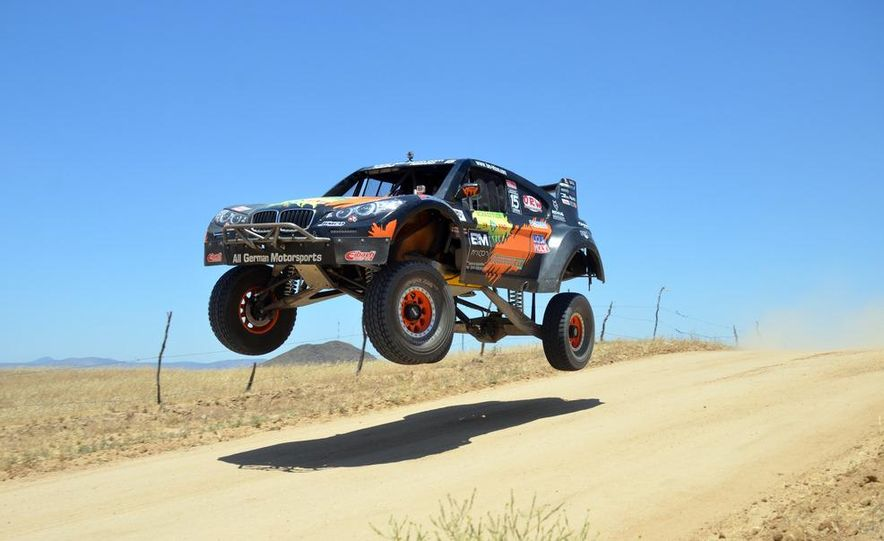 Baja Blitzkrieg: Taking the Reins of a BMW X6 Trophy Truck in Mexico - Slide 2