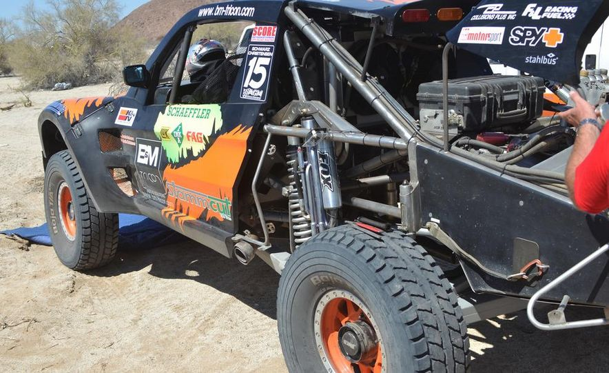 Baja Blitzkrieg: Taking the Reins of a BMW X6 Trophy Truck in Mexico - Slide 45