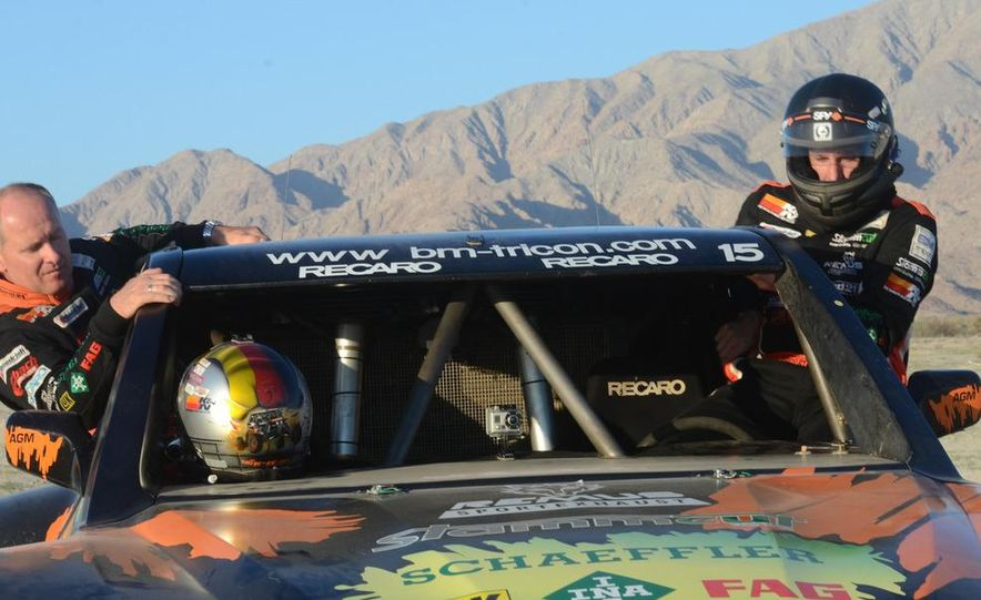 Baja Blitzkrieg: Taking the Reins of a BMW X6 Trophy Truck in Mexico - Slide 38