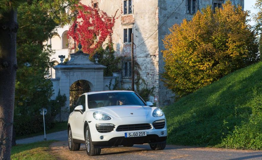 2013 Porsche Cayenne S diesel - Slide 26